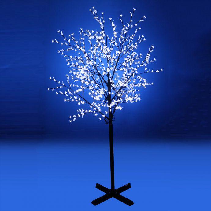 Led Tree Light With White Plum