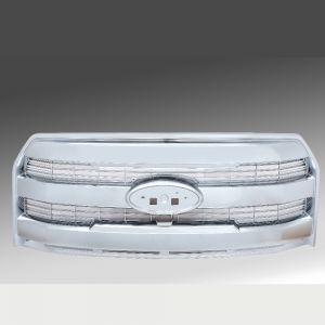 2015-2016 Ford F150 Chrome Plated Grille, Complete Factory Replacement Grille Shell