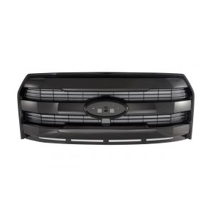 GBK 15-16 Ford F150 Front Grille W/ Bright Black Paint